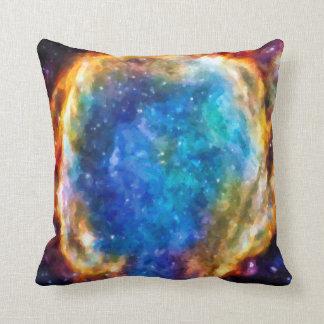 Supernova Remnant G299.2-2.9 NASA Space Photo Throw Pillow