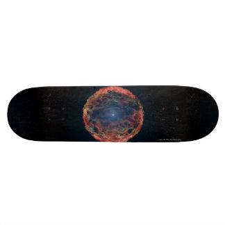 Supernova SN 1993J Skateboard