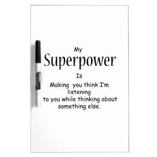 Superpower Dry-Erase Boards