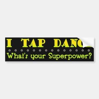 Superpower Tap Bumper Sticker