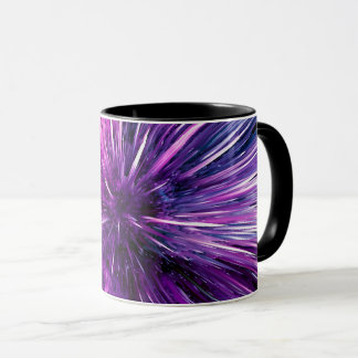 supersonic abstract mug
