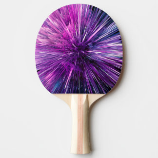 supersonic abstract ping pong paddle