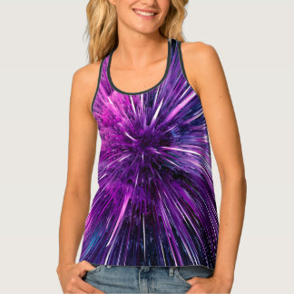 supersonic abstract tank top