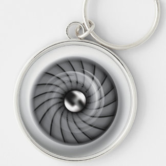 Supersonic Jet Engine Keychain