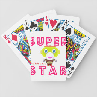 SuperStar 2-Cute Monkey-Morocko Bicycle Playing Cards