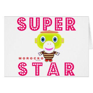 SuperStar 2-Cute Monkey-Morocko Card