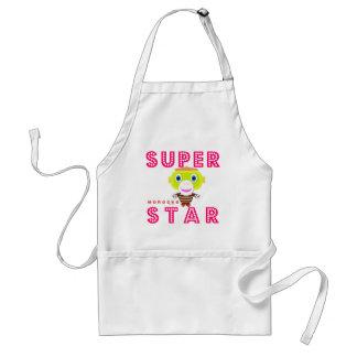 SuperStar 2-Cute Monkey-Morocko Standard Apron