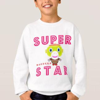 SuperStar 2-Cute Monkey-Morocko Sweatshirt