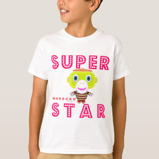 SuperStar 2-Cute Monkey-Morocko T-Shirt