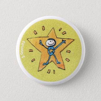 Superstar Badge 2 Inch Round Button