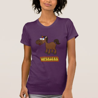 Superstar Black Unicorn T-Shirt
