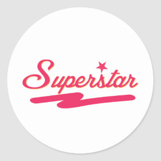 Superstar Classic Round Sticker