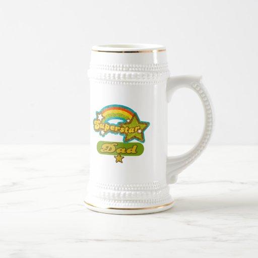 SuperStar Dad Mug