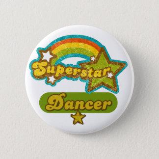 Superstar Dancer 2 Inch Round Button