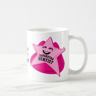 superstar dentist customizable mug! coffee mug