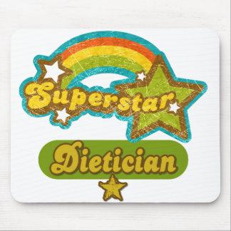 Superstar Dietician Mousepads