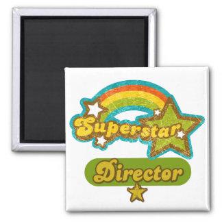 Superstar Director Square Magnet