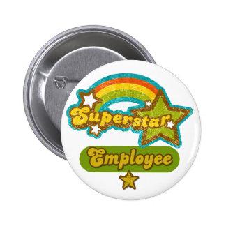Superstar Employee 2 Inch Round Button