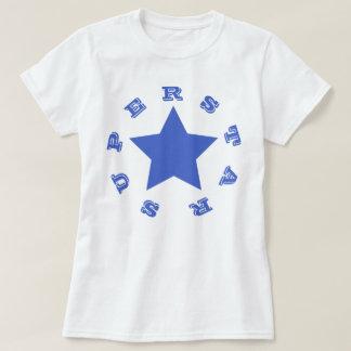 SUPERSTAR   Navy Blue Star Women's Basic T-Shirt