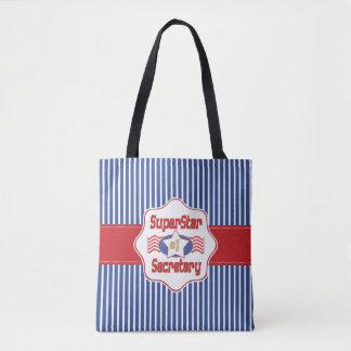 Superstar Number One Secretary Tote Bag