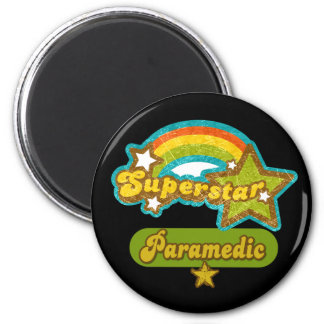 Superstar Paramedic Fridge Magnet