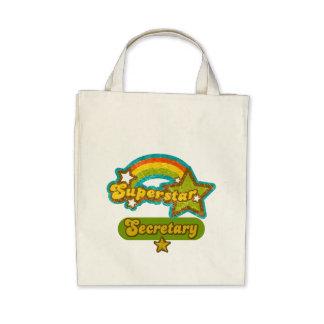 Superstar Secretary Tote Bag