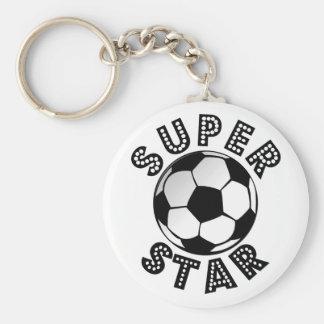 Superstar Soccer Keychain