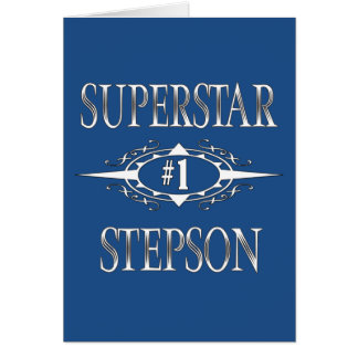 Superstar Stepson Card
