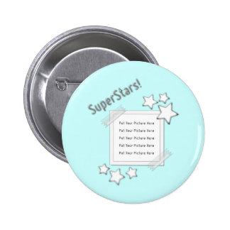 SuperStars Photo 2 Inch Round Button