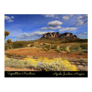 Superstition Mountains Postcard