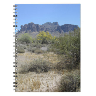 Superstition Mountains Spiral Note Books