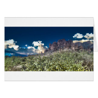 Superstition Mountian Range Card