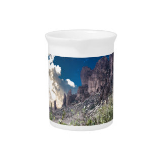 Superstition Mountian Range Drink Pitchers