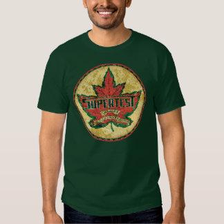 Supertest Canadian Gasoline T-shirts