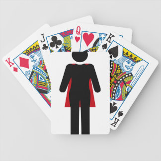 superwoman bicycle playing cards