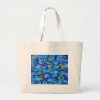 Supliussa - Milky way Large Tote Bag