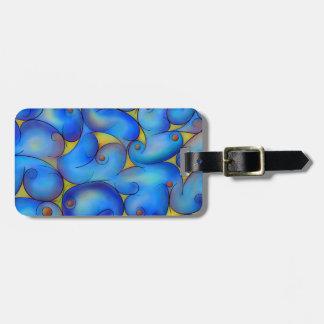 Supliussa - Milky way Luggage Tag