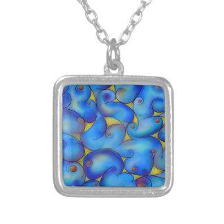 Supliussa - Milky way Silver Plated Necklace