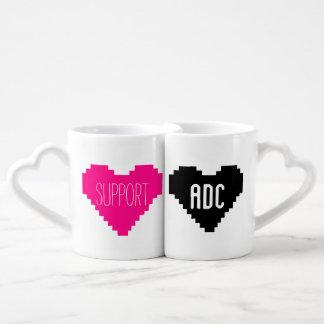 Supp & ADC Coffee Mug Set