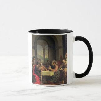 Supper at Emmaus, c.1600-05 (oil on panel) Mug