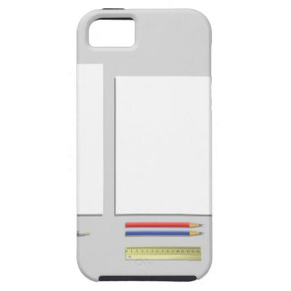 supplies papers iPhone 5 case