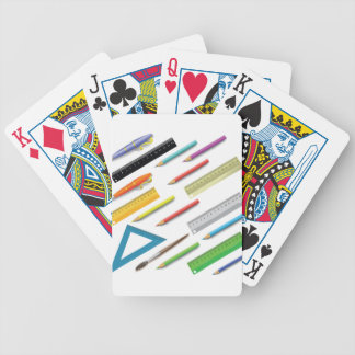 supplies set bicycle playing cards