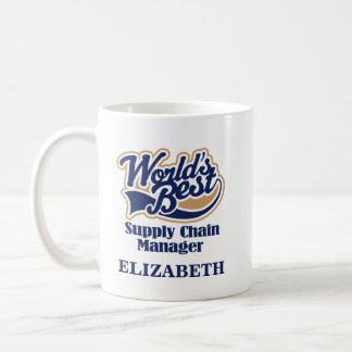Supply Chain Manager Personalized Mug Gift