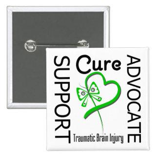 Support Advocate Cure 2 Traumatic Brain Injury Pin