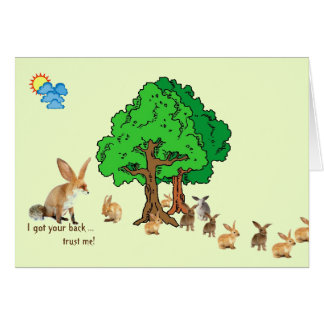 Support and Encouragement Card