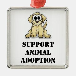 Support Animal Adoption Ornament