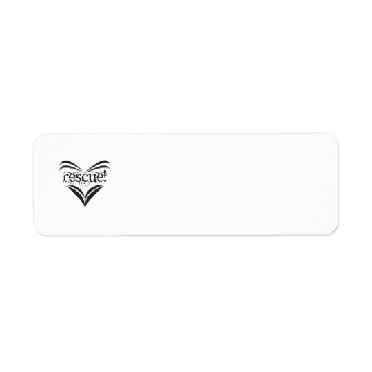 Support Animal Rescue - Address labels