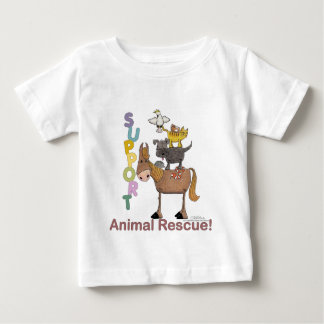 Support Animal Rescue Baby T-Shirt
