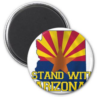 Support Arizona Refrigerator Magnet