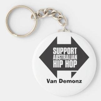 SUPPORT Aussie Hip Hop Keychain
